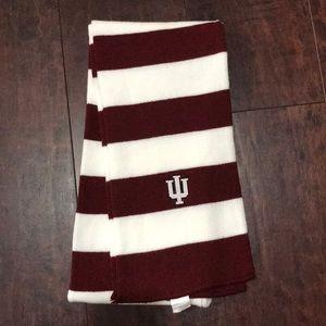 IU Rugby Striped Scarf